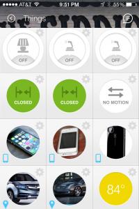 SmartThings App Things